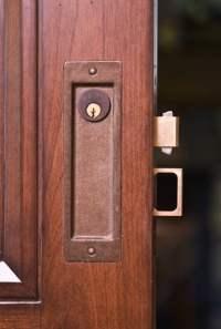 Sliding Door Locks - Real Carriage Door and Sliding Hardware