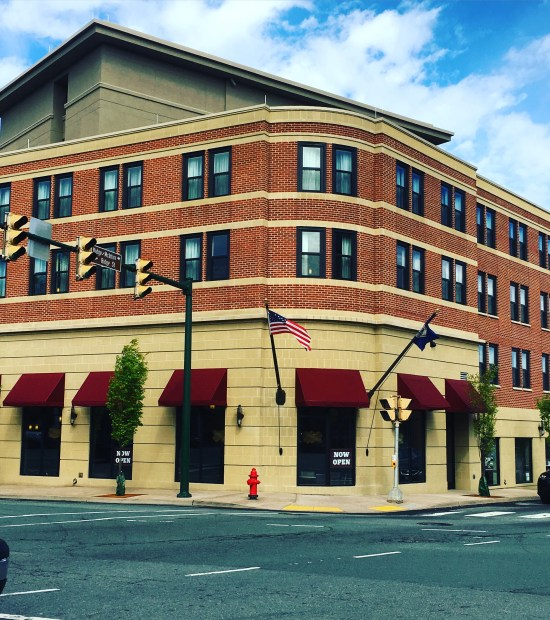 Marriott on West Main in Downtown Charlottesville