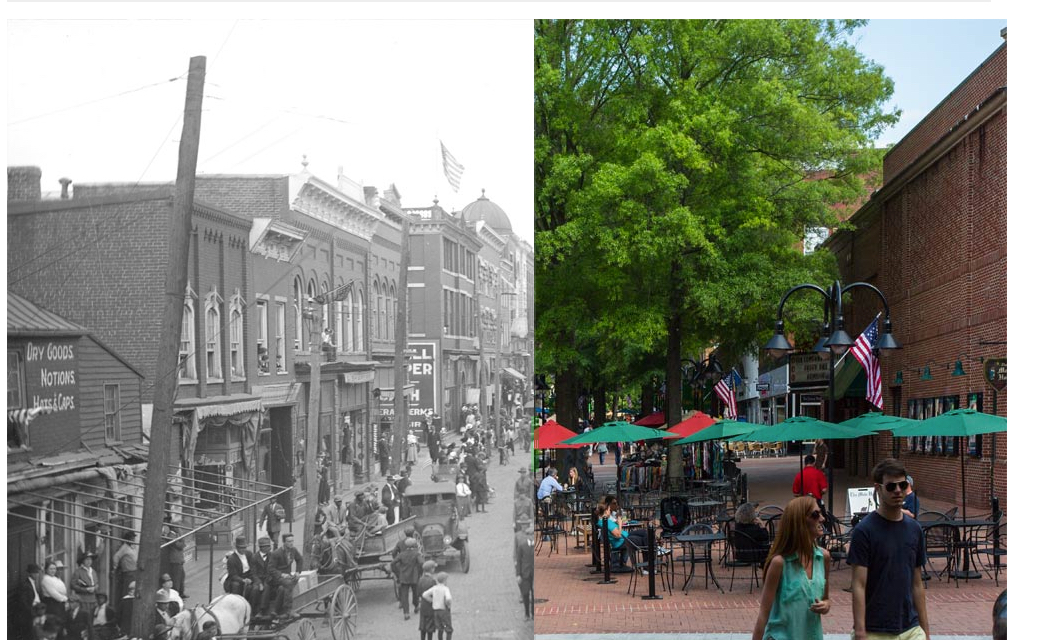 Charlottesville Then & Now | Virginia Magazine