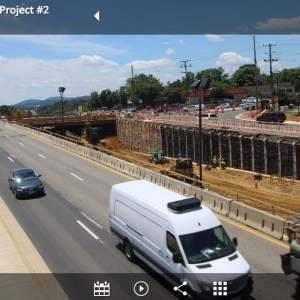 Time-Lapse Construction of 29 and Rio Road in Charlottesville