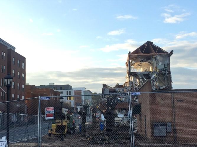 Creative Destruction on West Main