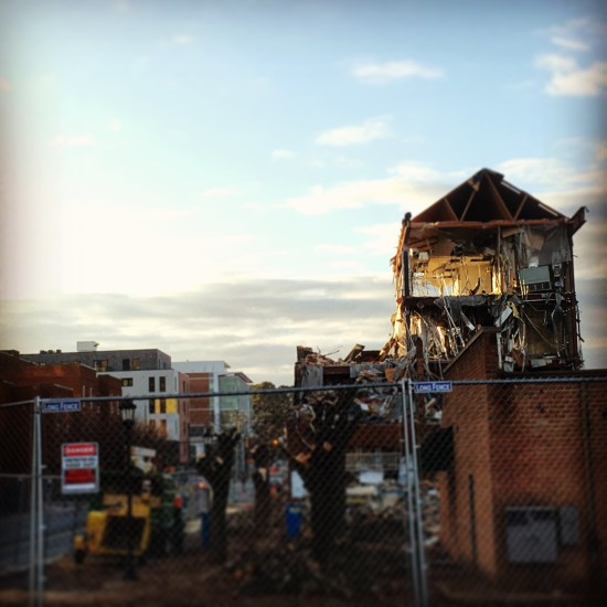 Creative Destruction on West Main