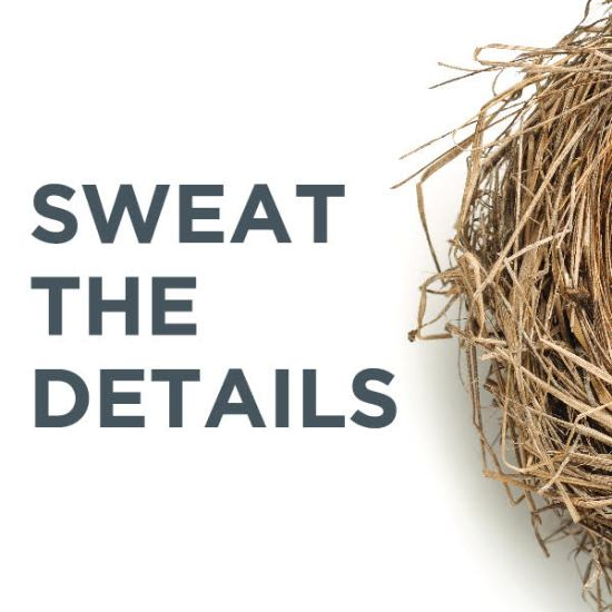 Nest Realty's Sweat the Details Podcast