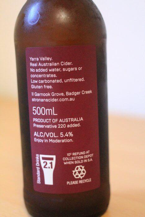 St Ronan's Bottle