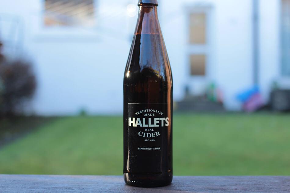 Hallet's Real Cider