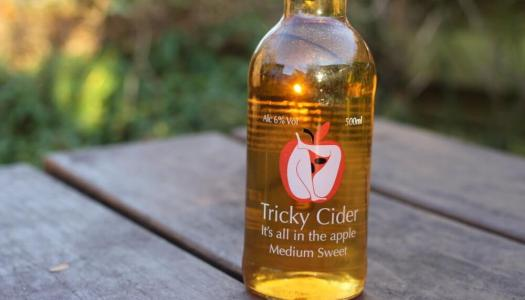 Tricky Cider Medium Sweet Cider