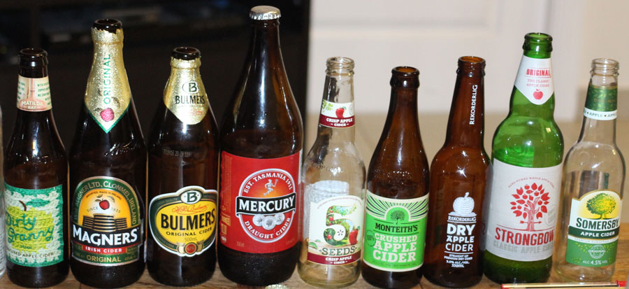 Top 9 Commercial Cider