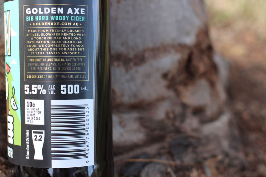 Big Hard Woody Cider by Golden Axe