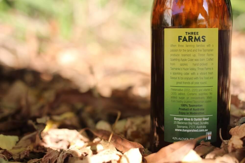 Three Farms Cider Tasmania