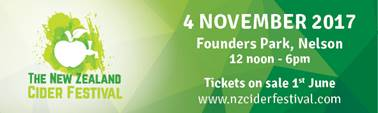 New Zealand Cider Festival tickets
