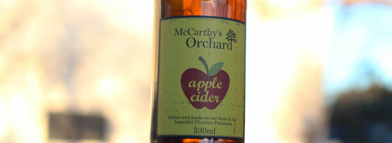 McCarthy's Orchard Apple Cider