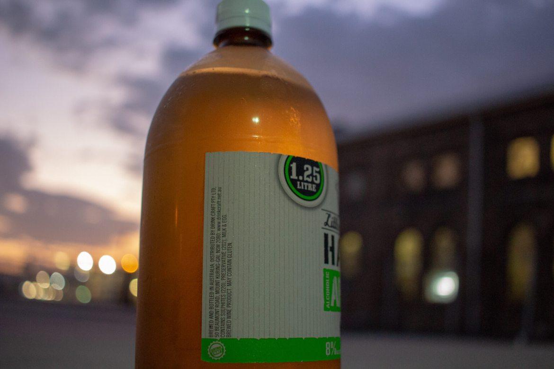 Little Fat Lamb Hard Alcoholic Apple bottle