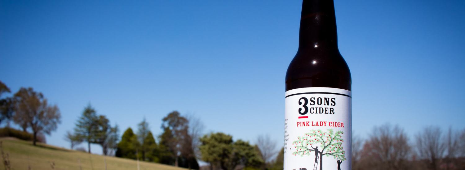 3 Sons Pink Lady Cider
