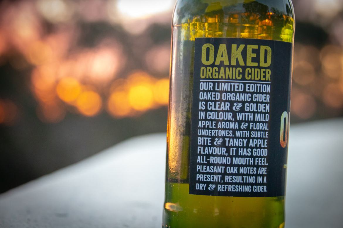 Sydney Brewery Organic Oaked Cider Review