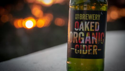 Sydney Brewery Oaked Organic Cider