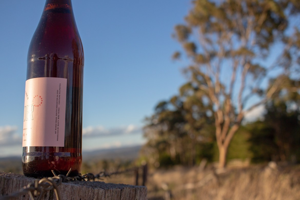easy rider pomegranate cider review