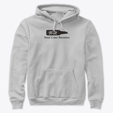 Real Cider Reviews Logo Hoodie