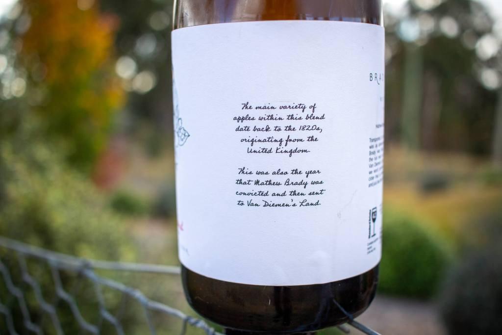 1820's Blend label