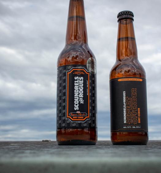 Scoundrels and Rogues - Repeat offender 2015 and 2017 bottles