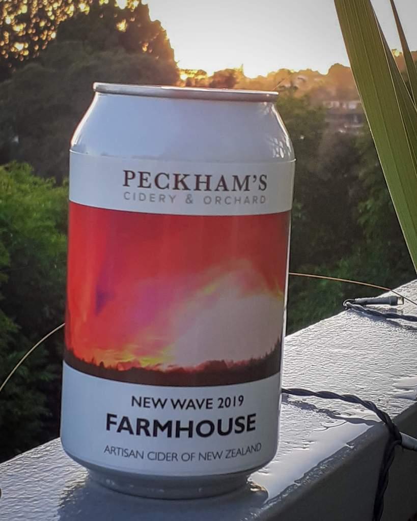 Peckhams Farmhouse Cider can