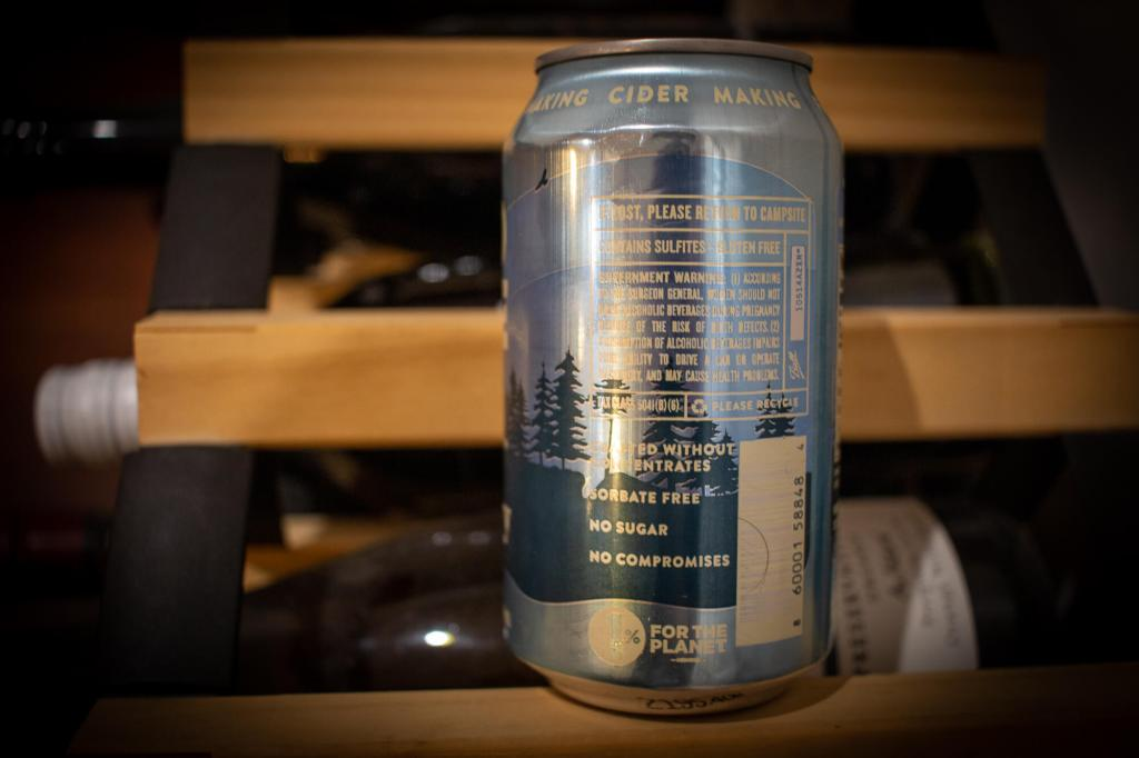 Wild State Cider Classic Dry can