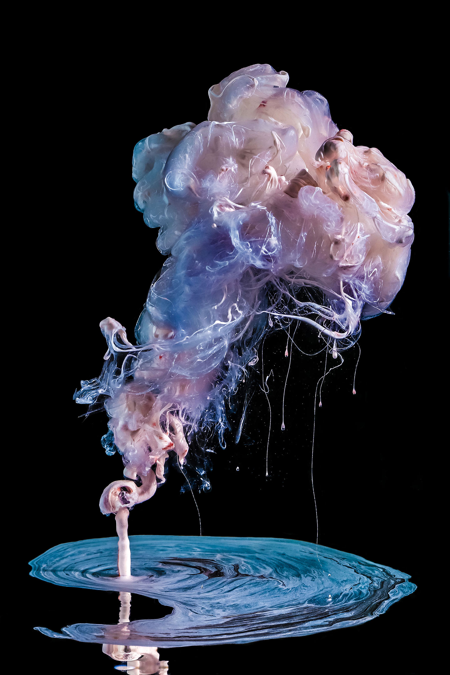 Photographer Creates Mesmerizing Liquid Ink Art Out Of