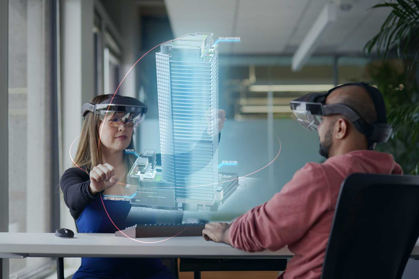 Augmented Reality Startup Replaced Its Employees Desks