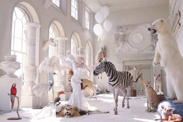 Natalie Lennard' 'surreal Fashion' Combines Fine Art And