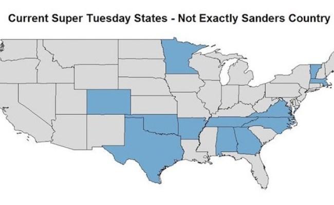 Bernie Sanders Has A Super Tuesday Problem Realclearpolitics