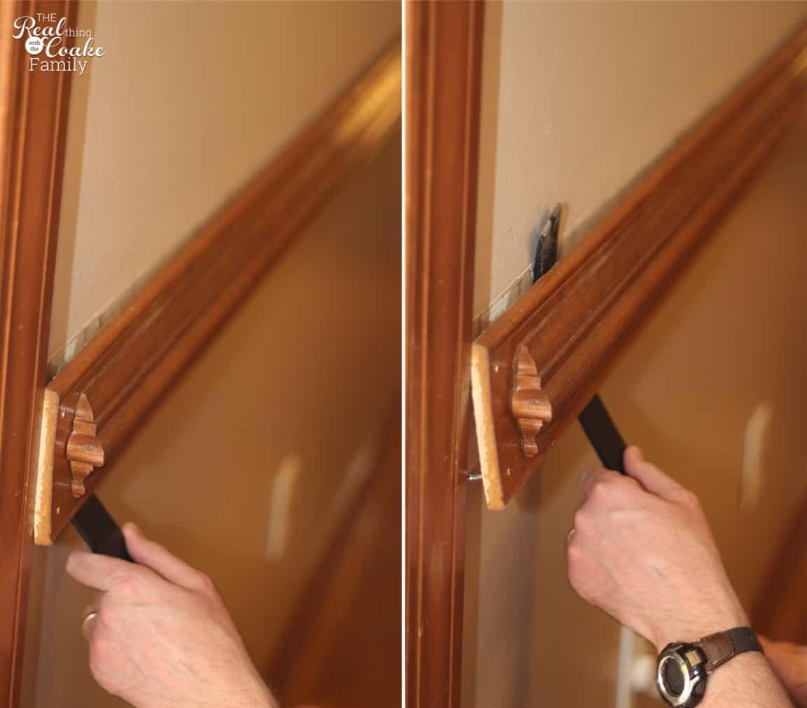 where to nail chair rail cheap armchair covers how remove part 1