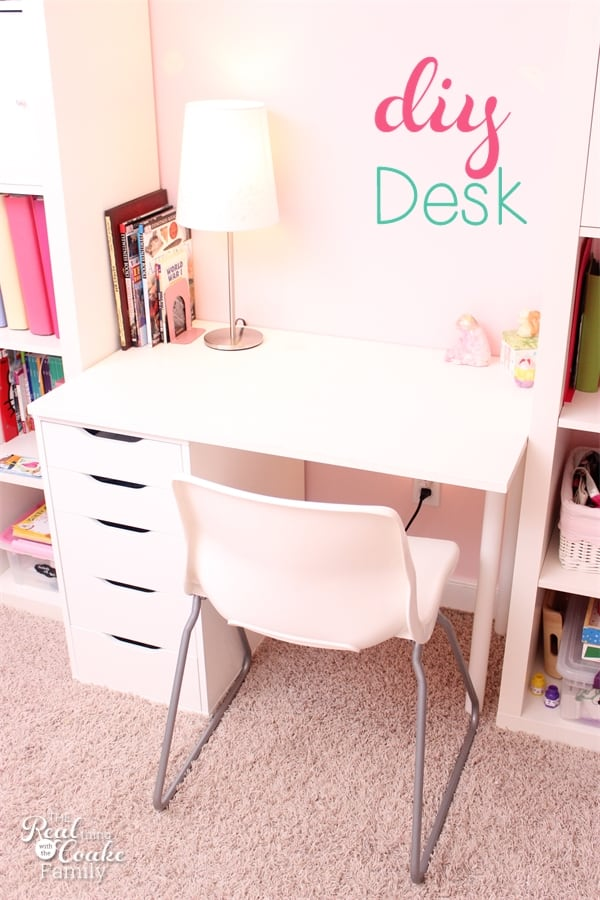 DIY Desk for IKEA Expedit