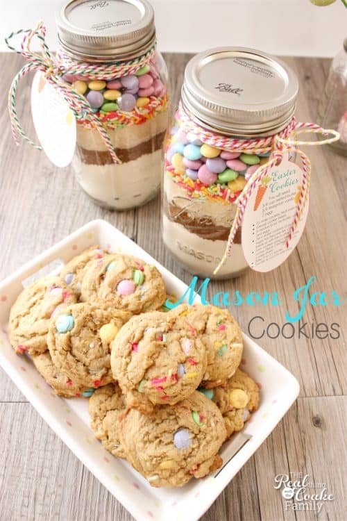 Easter Mason Jar Cookie Recipe