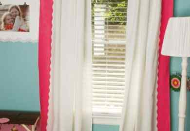 Diy Painted Ikea Curtains Realcoake
