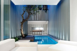 Singapore Minimalist Indoor Swimming Pool
