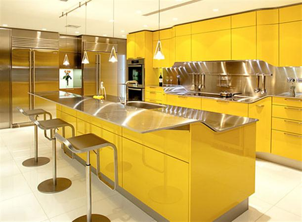 Eye-catching-and-modern-Yellow-Kitchen-Decoration-Ideas-by-Snaidero1