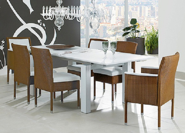 Dining-Room-Decorating-with-The-Wicker-Chairs-3