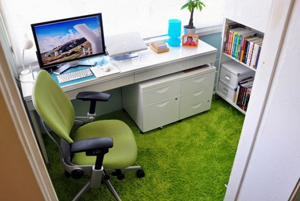 Functional And Comfortable Workspace Decorating