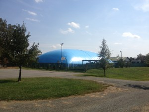Crozet Pool Dome