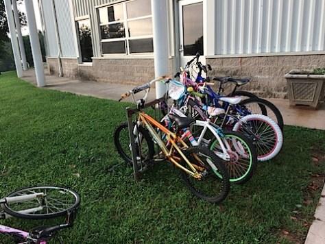 Riding Bikes to Crozet Elementary