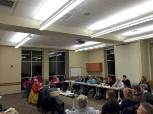Big Crowd at the CCAC meeting - 19 November 2014