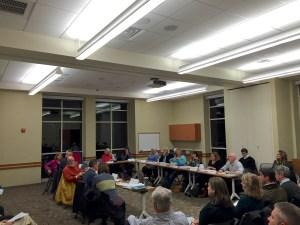 Big Crowd at the CCAC meeting - 19 November 2014