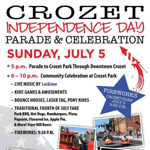 Crozet Independence Day Parade and Celebration - 2015