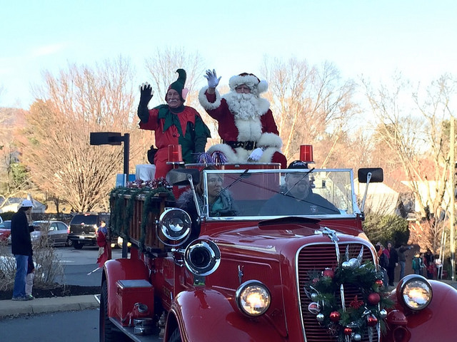 Crozet Christmas Parade (from 2014)
