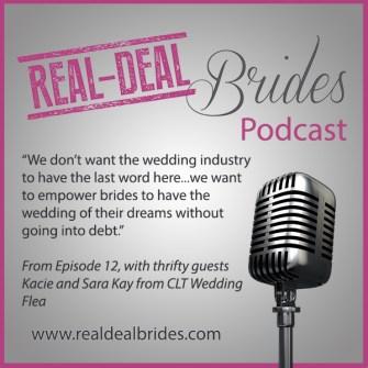 RDB012: Thrifty Weddings with Pros Kacie and Sara Kay of CLT Wedding Flea