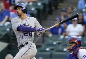Nolan Arenado(SDP) let you a sigh of relief as he blasted a HR and scored 69.55pts in Week #12