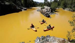 Manmade disaster in the west (spill in Colorado River)