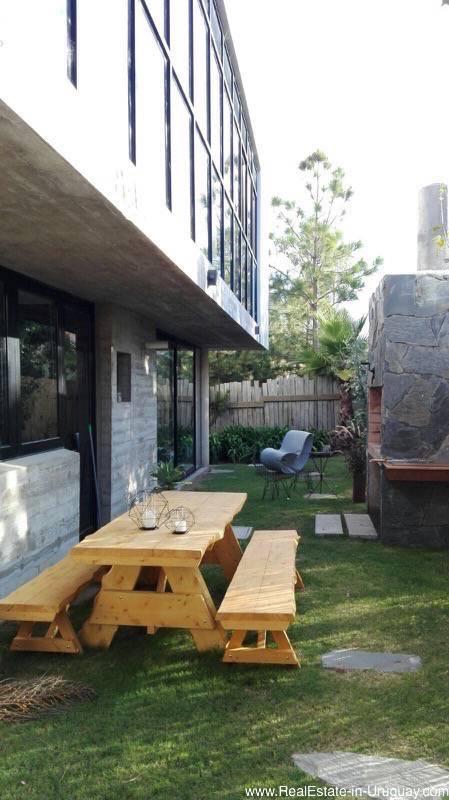 Garden with Parilla