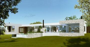 Modern House in Gated Community, Altos de la Tahona, Montevideo, Uruguay