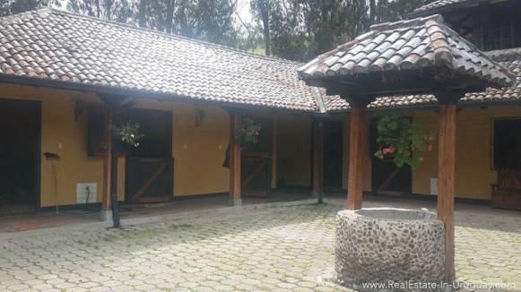 Stable Hacienda Amaguana Valle de los Chillos, Ecuador