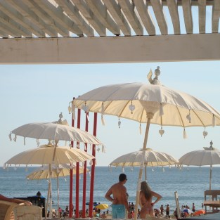 Beach club in Punta Ballena